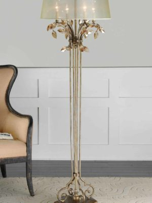 Alenya Gold Floor Lamp by Uttermost 1