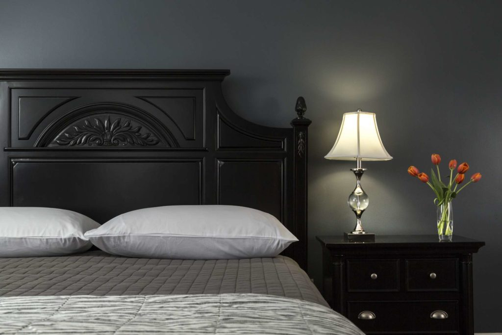 Dark Colors Promote Calm That Helps With Sleep
