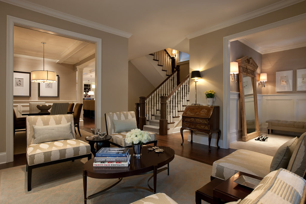 Living Room in Neutral Shades