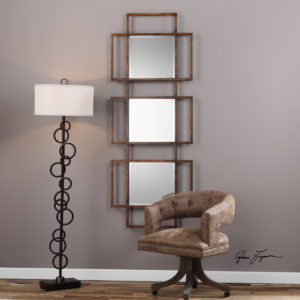 Tribus Rust Bronze Mirror