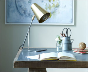 vintage desk lamp Elegant Little Gee is a gorgeous table lamp with a vintage pewter and brass