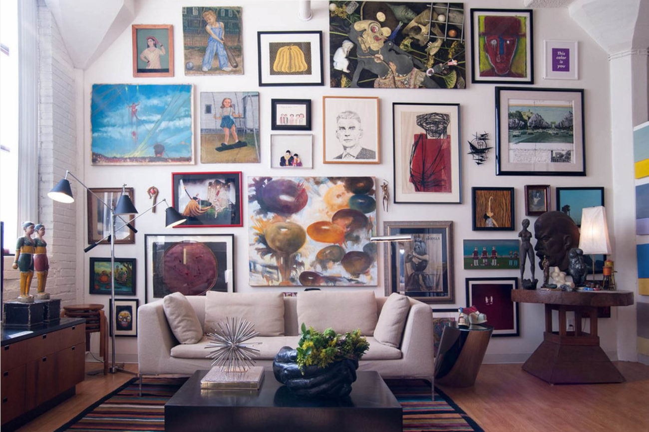 colorful gallery wall e1559798331784