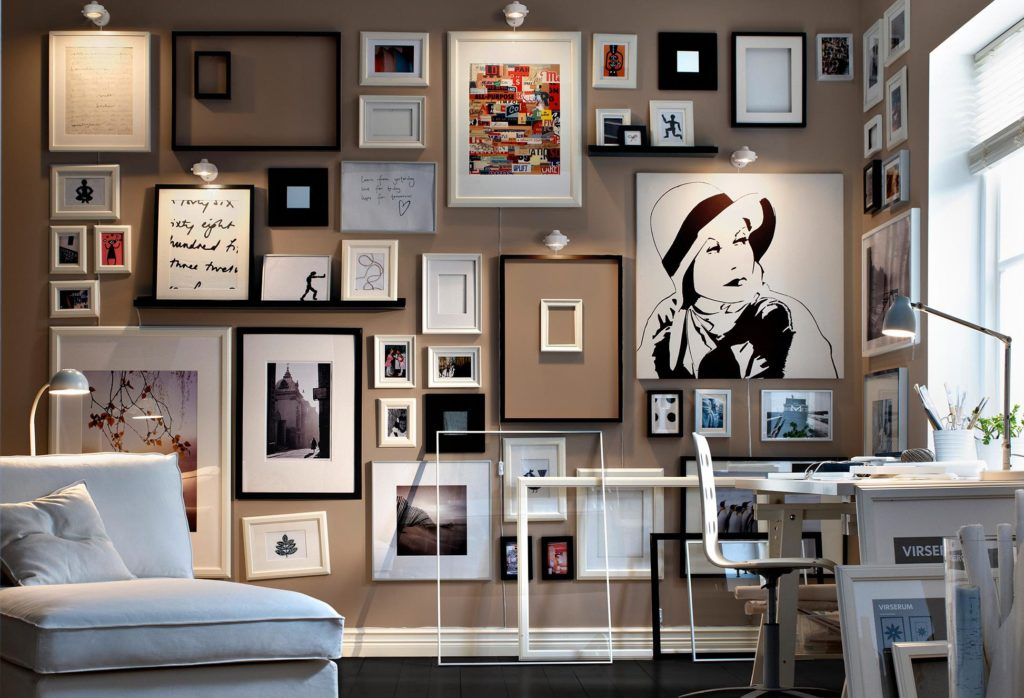 gorgeous-wall-hanging-collection-photo-frames