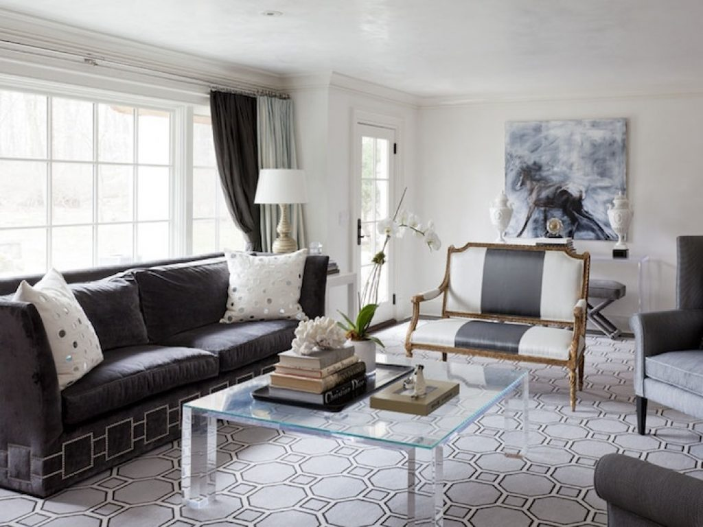 living-room-gray-velvet-settee_living-room