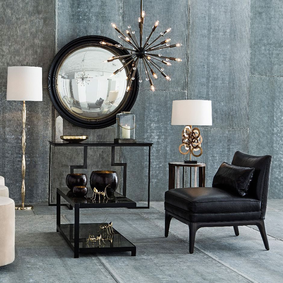 mirrors and lamps design