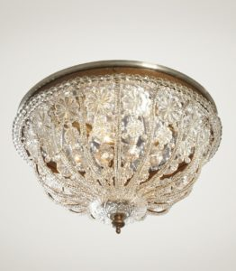 Elizabethan Flush Mount Light