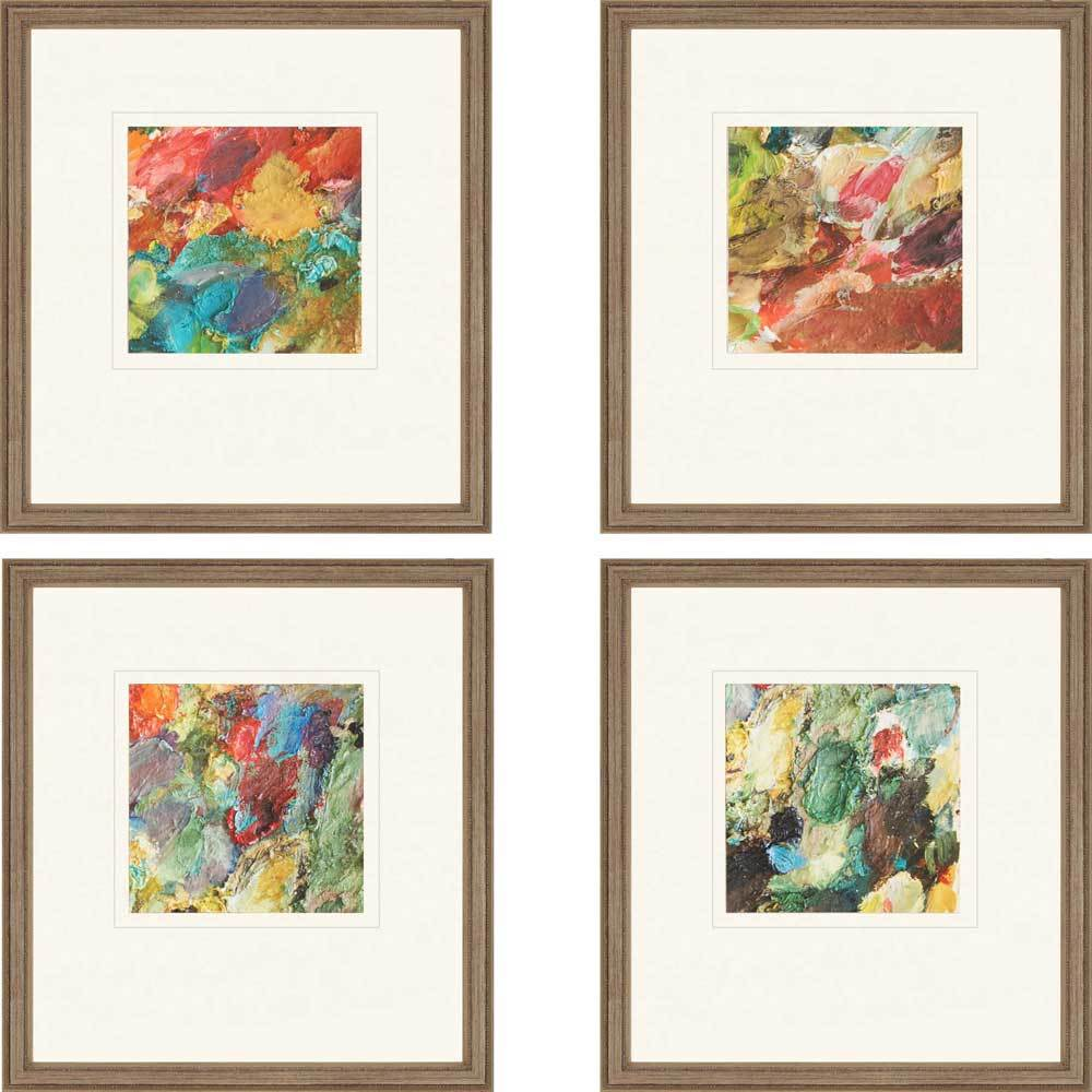 Mini Cooper Canvas Print Framed Abstract Watercolour Painting Art Picture