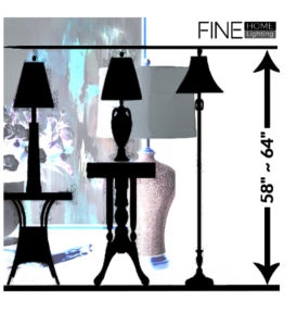 Table lamp size chart450 x 450