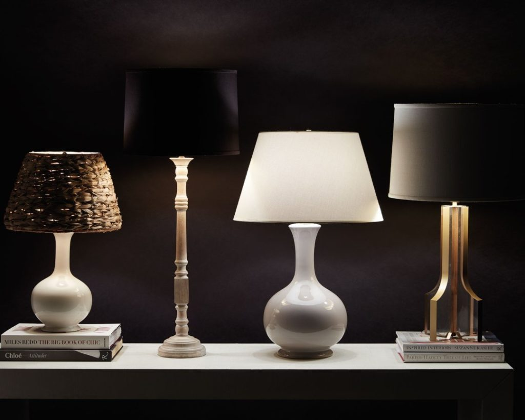 Table lamp sizes
