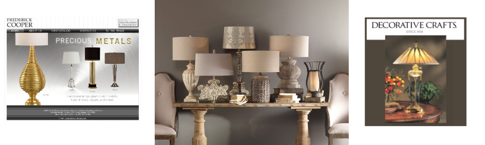 Table lamps image header