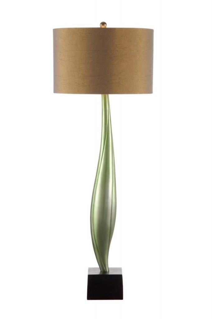 Willowy Stalk Green Table Lamp 681x1024