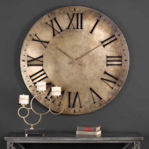 modern contemporary uttermost wall clock 06671