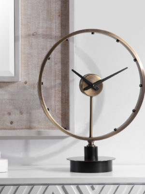 Davy Modern Table Clock_U-06459