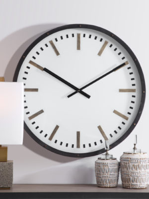 Fleming Large Wall Clock_U-06103
