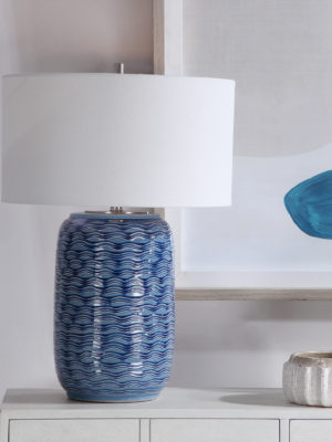 Sedna Blue Table Lamp_U-28274-1