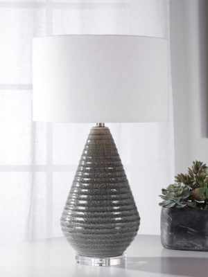 Carden Smoke Gray Table Lamp_U-28273