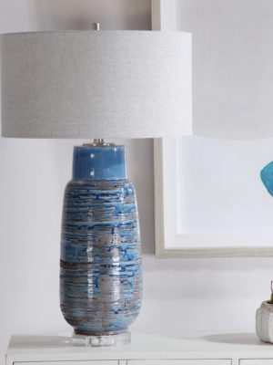 Magellan Blue Table Lamp_U-28276