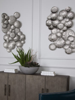 Cassava Hammered Discs Wall Art_U-04219