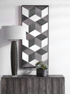 Ambie Mirrored Wall Decor_U-04235
