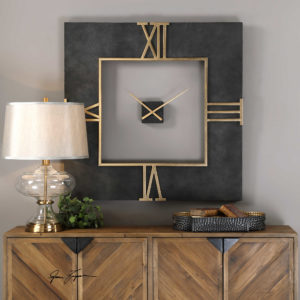 Mudita Square Wall Clock06448