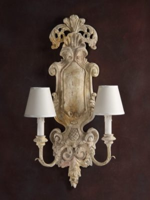 Parrano Sconce by Decorative Crafts
