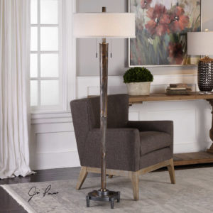 Rhett Floor Lamp by Uttermost