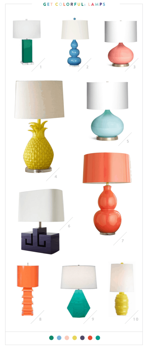 colorful lamps 1