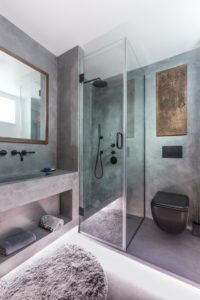 concrete bathroom design