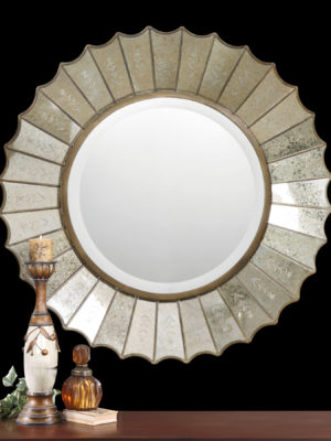 Amberlyn Sunburst Gold Mirror_U-08028 B