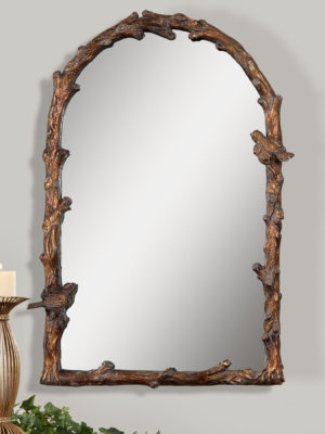 Paza Antique Gold Arch Mirror_U-13774