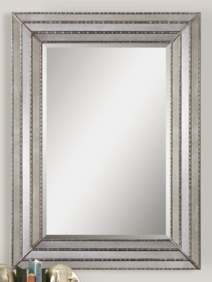 Seymour Antique Silver Mirror_U-14465
