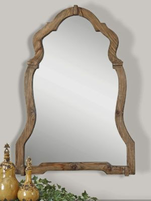 Agustin Light Walnut Mirror_U-07632