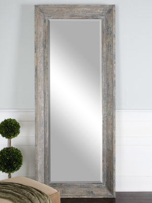 Missoula Distressed Leaner Mirror_U-13830