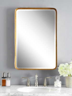 Crofton Antique Gold Mirror_U-13936