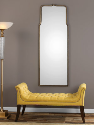 Adelasia Antiqued Gold Mirror_U-09247