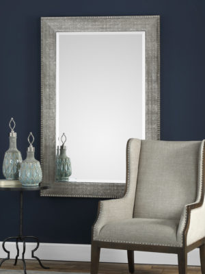 Leiston Metallic Silver Mirror_U-09370