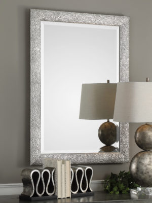 Mossley Metallic Silver Mirror_U-09361