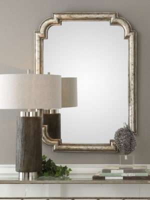 Calanna Antique Silver Mirror_U-09385