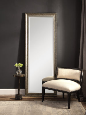 Aaleah Burnished Silver Mirror_U-09396