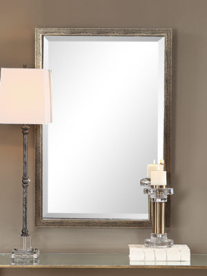 Aburay Tarnished Silver Mirror_U-09397