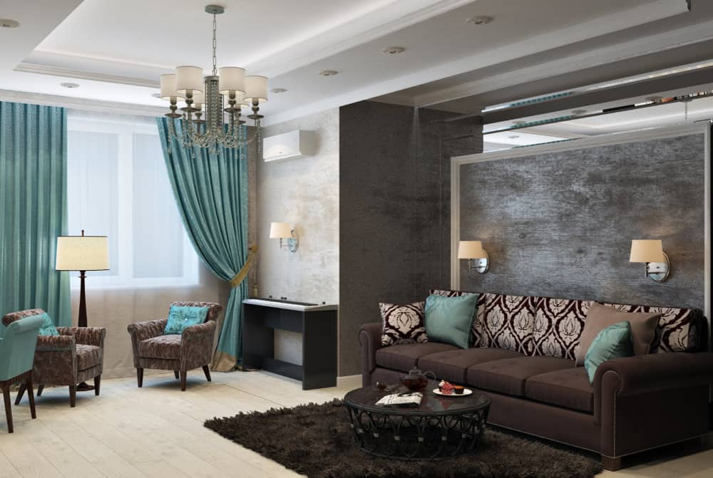 A living room that uses ideas that would make your home look more luxurious1c