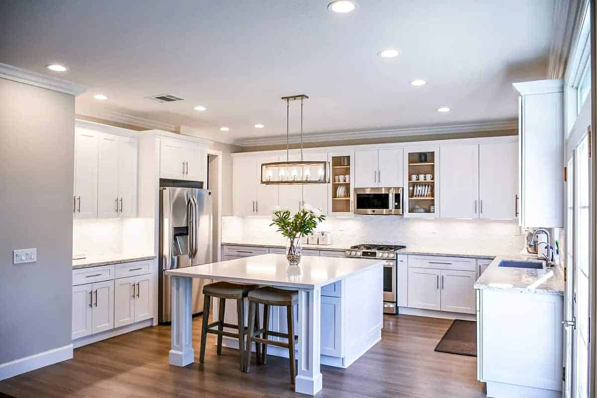 Kitchens should feature task accent and ambient lighting