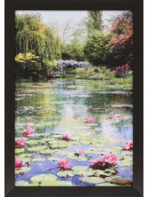Lotus Lake_PA-13655_Framed Art