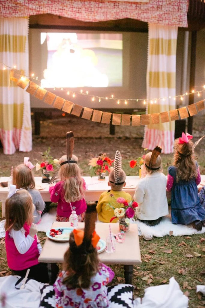 outdoor kids party ideas