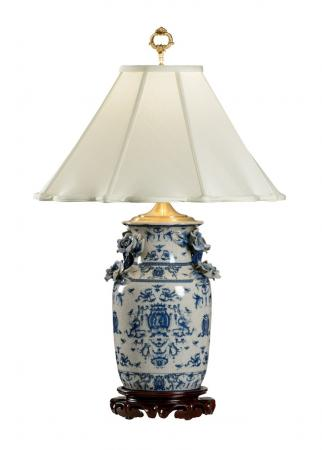 Blue-White-With-Dragons-Lamp