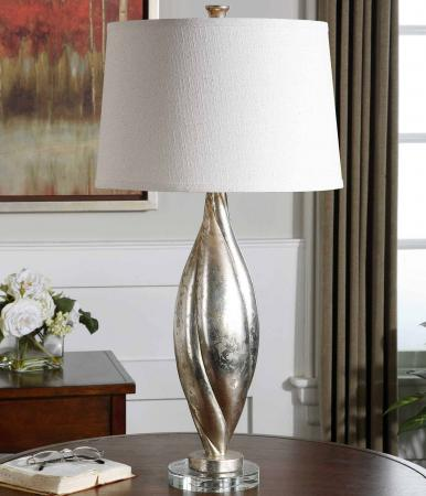 Palouse Champagne Leaf Table Lamp by Uttermost – 3126343 C