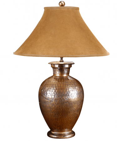 Antique-Copper-Lamp-by-Wildwood-Lamps-–-33″