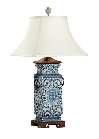 Blue-And-White-Heralds-Lamp
