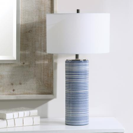 Montauk Striped Table Lamp_U-28284