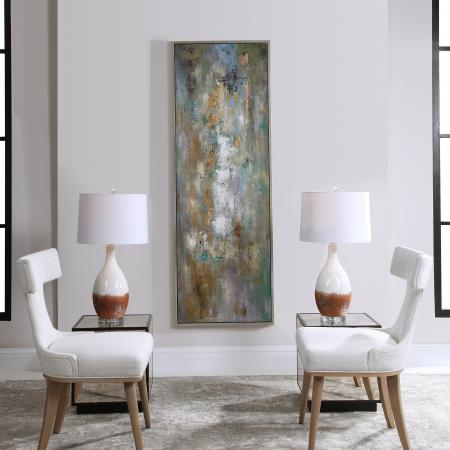 Enigma Hand Painted Abstract Art_U-34378